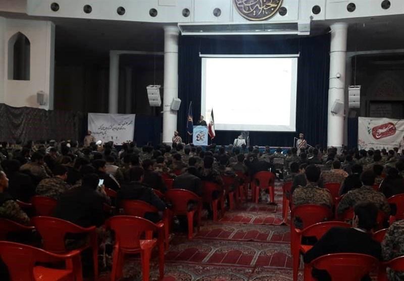 همایش گشتهای رضویون با حضور 600 بسیجی قمی برگزار شد