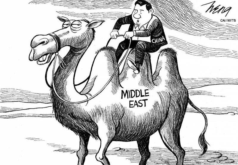 گزارش| چگونه چین از اشتباه آمریکا در خاورمیانه بهره میگیرد