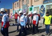 بیست و یکمین مانور سراسری زلزله در خراسان جنوبی برگزار شد
