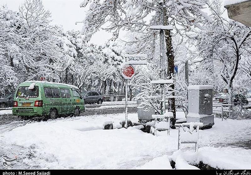 هواشناسی| بارش برف و باران آغاز شد/ ورود سامانه بارشی جدید به کشور طی روز یکشنبه
