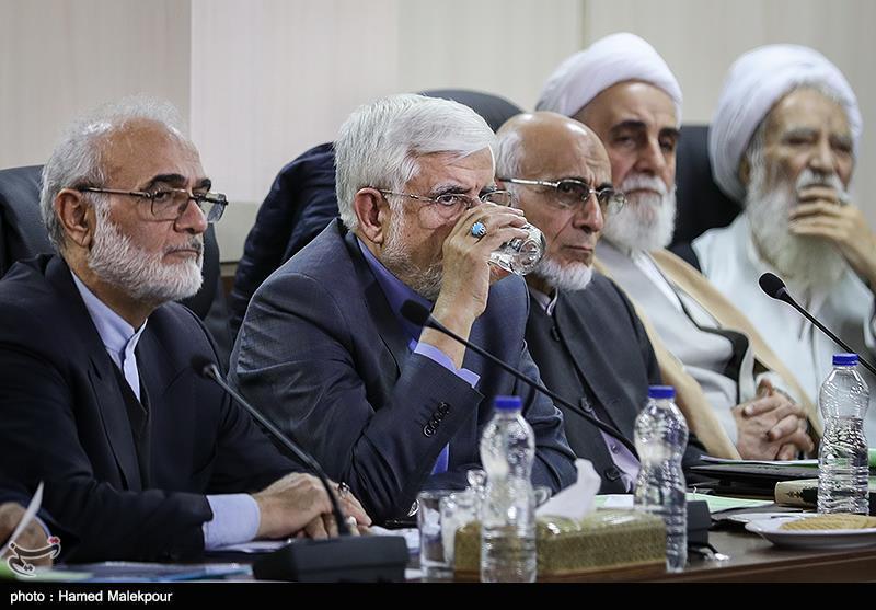 محمدرضا عارف در جلسه مجمع تشخیص مصلحت نظام