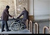"""کمکاری مسئولان در مناسبسازی معابر شهری زنجان / """"معلولان"""" خانهنشین شدهاند"""