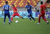 لیگ برتر فوتبال| تساوی گلگهر و فولاد در نیمه نخست
