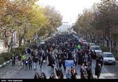 پیاده روی مشهدیها به مناسبت هفته بسیج + فیلم