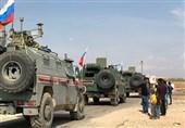 گشتزنی مشترک نظامیان روسیه و ترکیه در استان حسکه سوریه