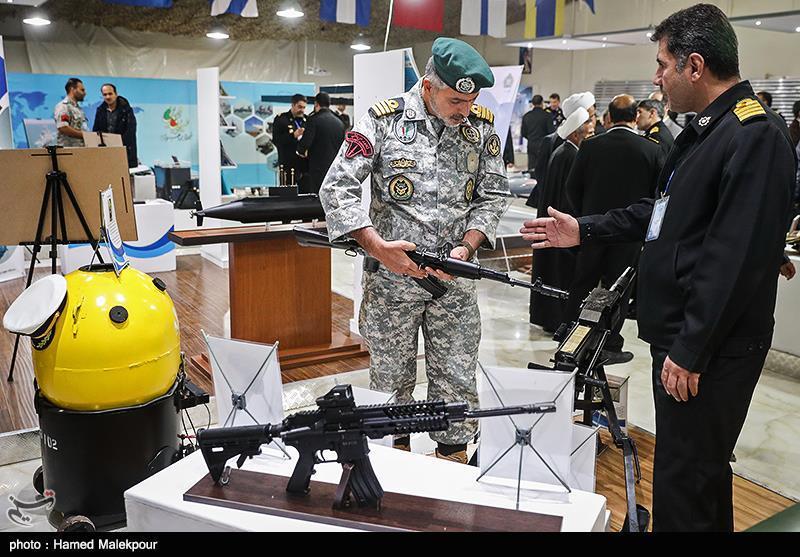 نمایشگاه دستاوردهای جهاد خودکفایی نیروی دریایی ارتش