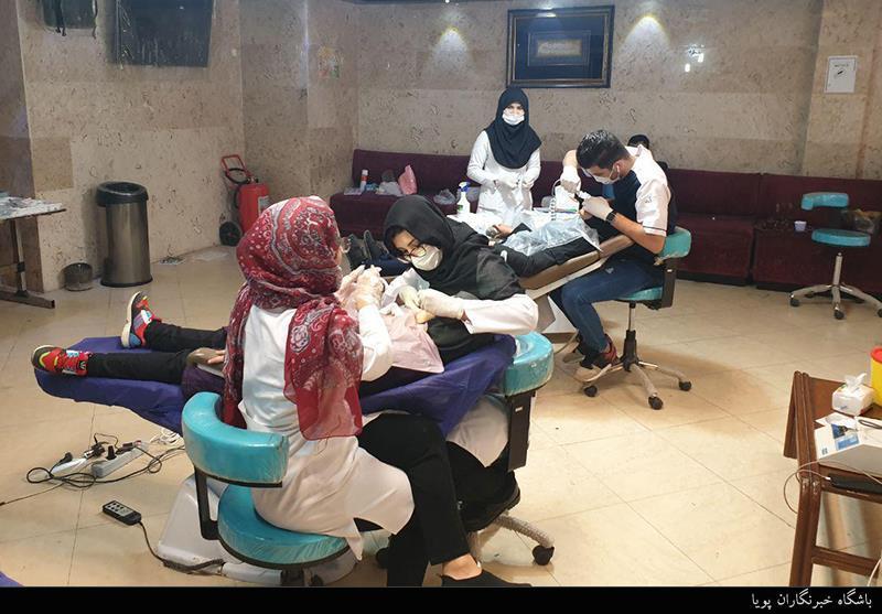 تصاویر// ارائه خدمات جهادی دندانپزشکی توسط بسیجیان تهران بزرگ
