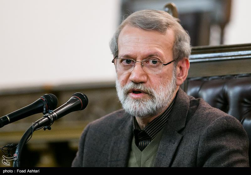 Iran's Larijani Lauds IRGC Contributions to Fight against COVID-19