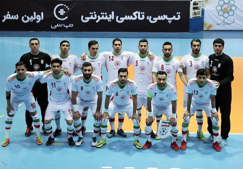 Iran Drops Two Spots at Futsal World Ranking