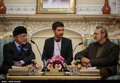 لاریجانی در دیدار وزیر امور خارجه عمان: مساله یمن لایههای پنهانی دارد