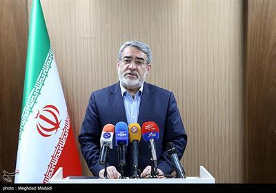 وزیر کشور: 2722 در حوزه انتخابیه تهران و 14 هزار نفر در کل کشور ثبت نام کردهاند