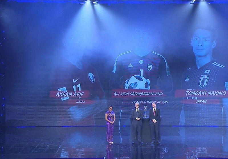 پیام اکرم عفیف پس از انتخاب به عنوان مرد سال فوتبال آسیا