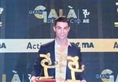 رونالدو: سری A واقعا دشوار است/ امیدوارم سال آینده هم جایزه مشابهی ببرم