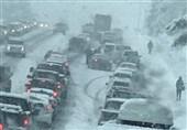 پیشبینی کولاک برف در گردنههای چهارمحال و بختیاری؛ کاهش دید افقی و پدیده مهگرفتگی
