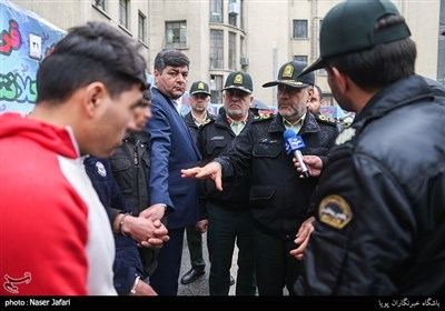 بازدید سردار رحیمی از سی و یکمین مرحله از طرح رعد