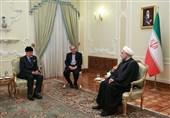 """روحانی در دیدار """"بنعلوی"""": اروپا و آمریکا علاقهای به برقراری صلح در یمن ندارند"""