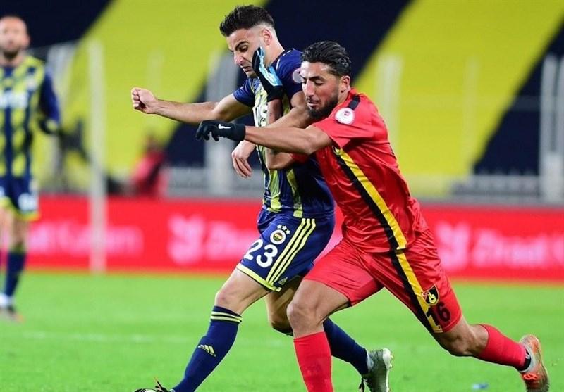 جام حذفی ترکیه| شکست استانبولاسپور برابر فنرباغچه در حضور صیادمنش