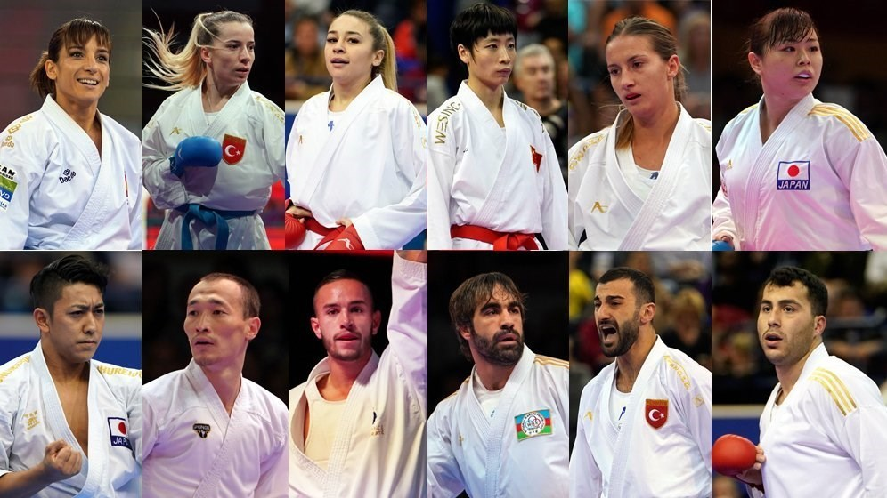 لیگ جهانی کاراته وان , سجاد گنجزاده , کاراته ایران , کاراته ,