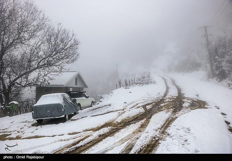 هواشناسی ایران 98/09/16|برف و باران تا آخر هفته/ 2 سامانه بارشی جدید در راه است