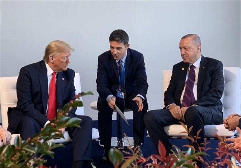 دیدار اردوغان و ترامپ در حاشیه اجلاس ناتو