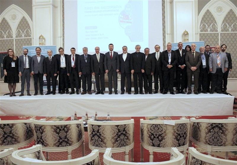گزارش تسنیم از همایش بینالمللی همکاریهای ترکیه، ایران و عراق در آنکارا