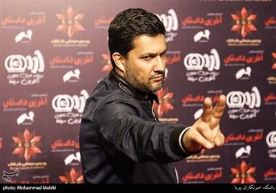 حامد بهداد بازیگر در اکران خصوصی انیمیشن آخرین داستان