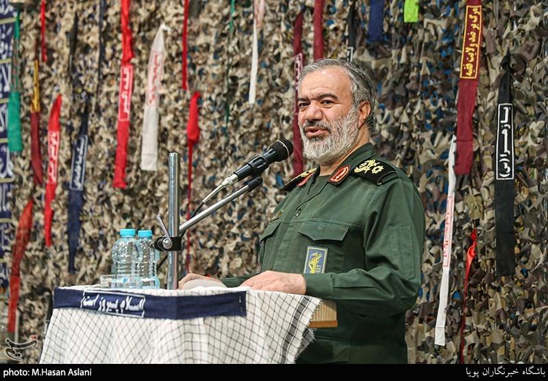 سردار فدوی در مشهد: دانشجویان بسیجی باید در جبهه حق حضور پررنگی داشته باشند