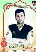 تشییع شهید مدافع امنیت در شادگان + فیلم 