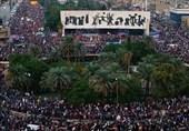 تظاهرات شعبیة حاشدة فی العراق تلبیة لنداء المرجعیة الدینیة ورفضًا للمخرّبین +صور
