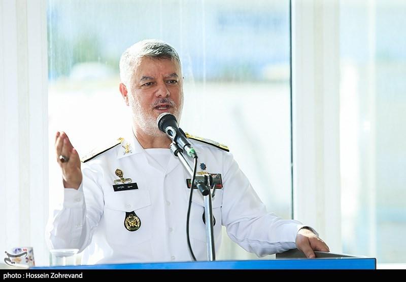 امیر خانزادی: استقرار کامل نیروی دریایی در اقیانوس هند در دستور کار قرار گرفته است