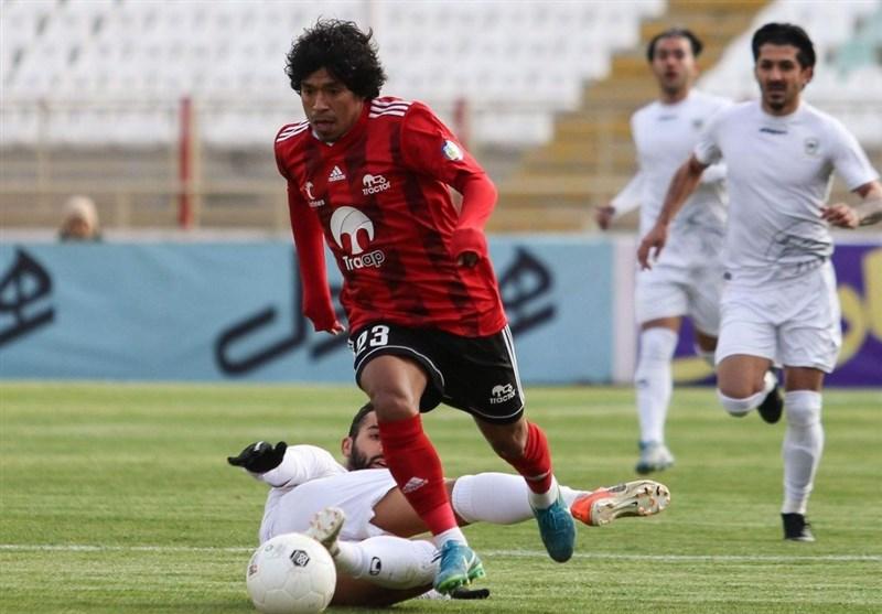 لیگ برتر فوتبال| ادامه ناکامیهای شاگردان دنیزلی؛ تراکتور مقابل قعرنشین هم ناکام ماند