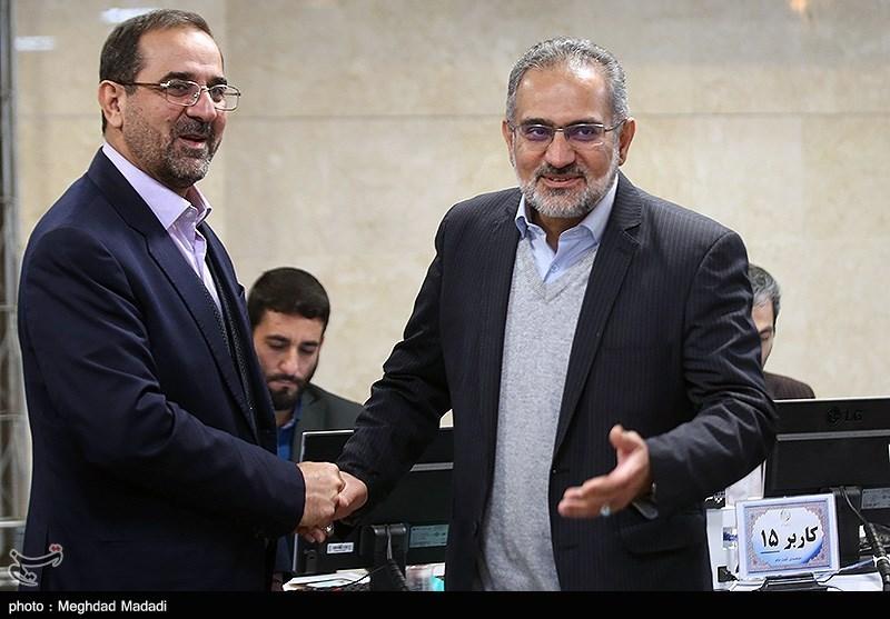 ثبت نام محمد عباسی و سیدمحمد حسینی در ششمین روز ثبتنام داوطلبان انتخابات مجلس یازدهم
