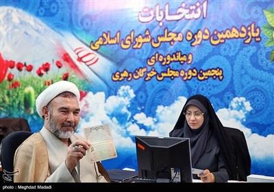 ثبت نام حسین سبحانینیا در ششمین روز ثبتنام داوطلبان انتخابات مجلس یازدهم
