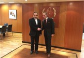 Iranian Diplomat, IAEA Chief Meet in Vienna