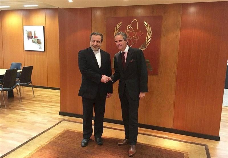 Iranian Diplomat, IAEA Chief Meet in Vienna