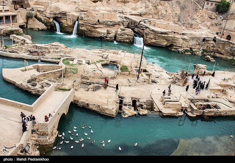 سازههای آبی شوشتر - خوزستان