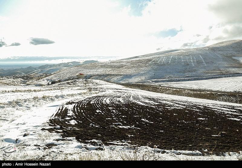 برف و باران در جادههای چند استان,