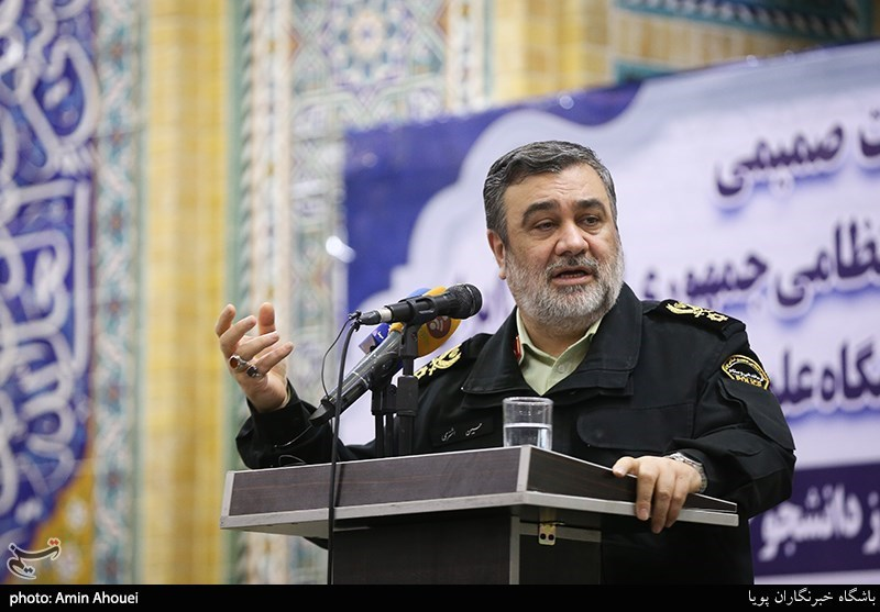 Iran Police Successfully Handled Recent Riots, Commander Says