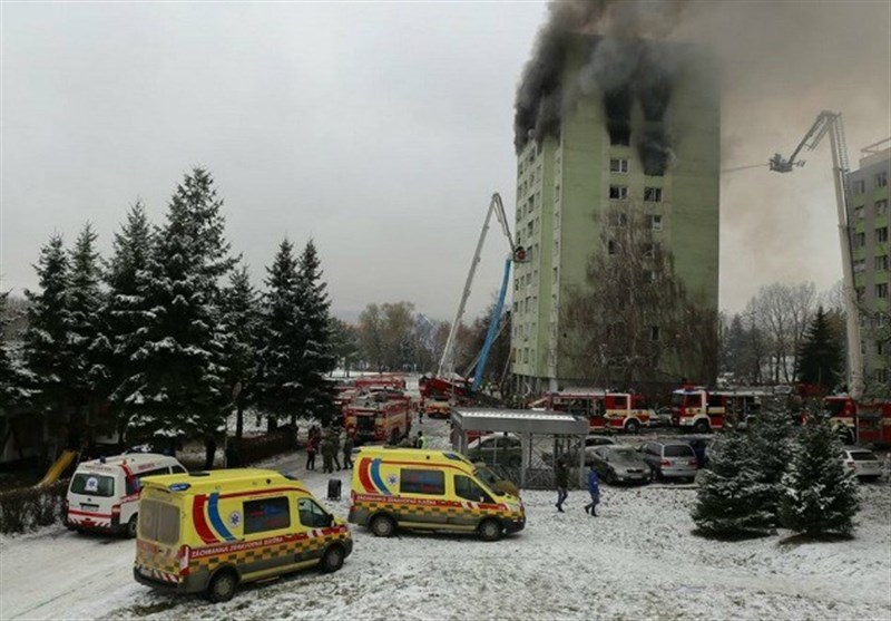 Deadly Blaze Tears through Slovakia High-Rise Block