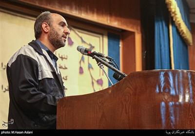 سخنرانی سیدامیر میرناصری کارگر هپکو گرامیداشت روز دانشجو در دانشگاه تهران
