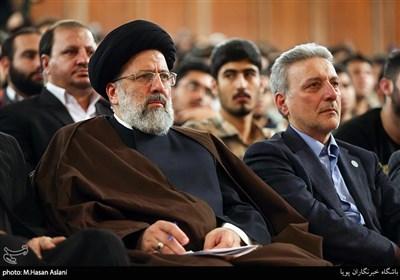 گرامیداشت روز دانشجو با حضور حجت الاسلام سیدابراهیم رئیسی رئیس قوه قضاییه در دانشگاه تهران
