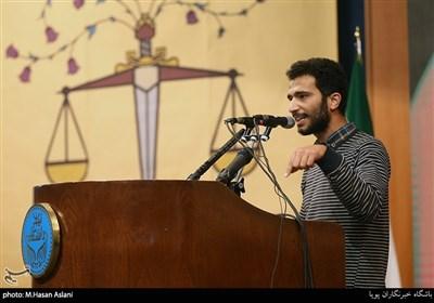 سخنرانی علی اسکندری نماینده جنبش عدالتخواه دانشجویی آرمان در مراسم گرامیداشت روز دانشجو در دانشگاه تهران