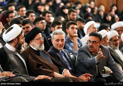 گرامیداشت روز دانشجو در دانشگاه تهران با حضور حضور حجتالاسلام سیدابراهیم رئیسی رئیس قوه قضاییه