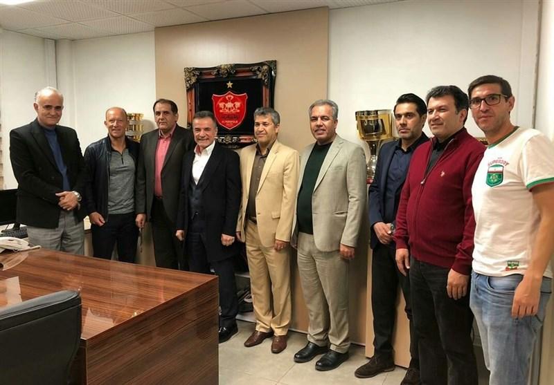 دیدار اعضای هیئت مدیره باشگاه پرسپولیس با کالدرون