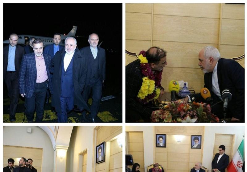 محمدجواد ظریف , کشور آمریکا ,
