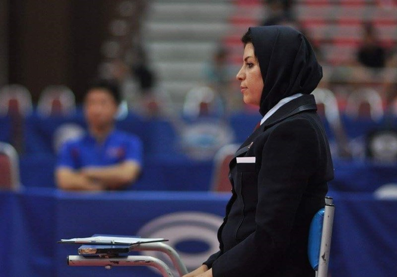 Iranian Woman Referee Dalir Invited to ITTF Olympic Qualification