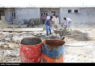 مراسم افتتاح و بهره برداری از 120 باب منازل آپارتمانی شهرک شهید مولایی منطقه سوم نبوت نداجا