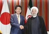 رایزنی نخست وزیر ژاپن درباره سفر روحانی