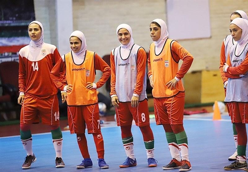 Iran Too Strong for Afghanistan at CAFA U-19 Girl's Futsal C'ship