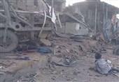 یمن پر اتحادی افواج کے وحشیانہ حملے جاری، متعددعمارتیں تباہ